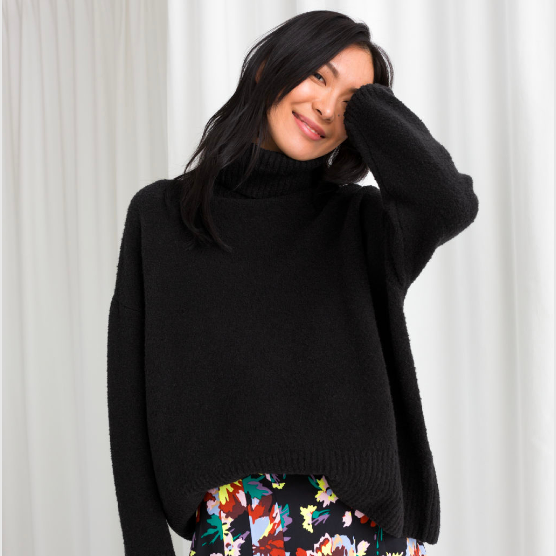 ALL-SORTS-OF-AND-OTHER-STORIES-TURTLENECK-SWEATER-BLACK