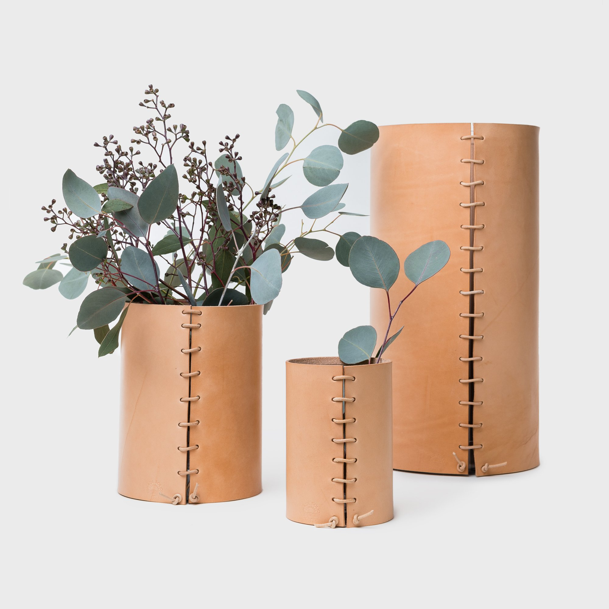 ALL-SORTS-OF-SHOPPE-MADE-SOLID-LEATHER-WRAPPED-VASES-NATURAL