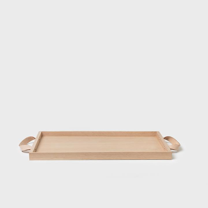 All Sorts Of Shoppe Wooden Leather Tray